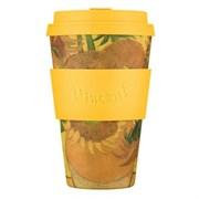 Кофейный эко-стакан 400 мл Ван Гог Подсолнухи