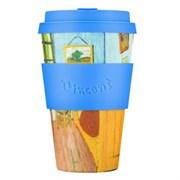 Кофейный эко-стакан 400 мл Ван Гог Спальня