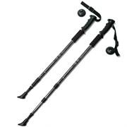 Палки для скандинавской ходьбы (черная) до 1,35м Телескопическая F18435