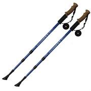 Палки для скандинавской ходьбы (синие) до 1,35м Телескопическая F18437