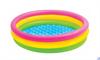 Детский бассейн с надувным дном Intex 57412 (114х25)