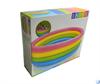 Бассейн детский с цветными кольцами Intex 56441 (168х41)