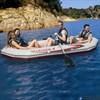 Надувная лодка Intex 68376 4-х местная Mariner 4 Set