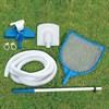 Каркасный бассейн SummerEscapes P20-1852-S +песочный насос, лестница, тент, подстилка, набор для чистки, скиммер (549х132см) - фото 66982